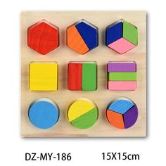 Baby Toys Montessori wooden Puzzle/Hand Grab Board Set Educational Wooden Toy Cartoon Vehicle/ Marine Animal Puzzles Child GiftsBrand Name: zuutonPuzzle Style: Tangram/Jigsaw BoardGender: UnisexAge Range: 13-24 MonthsAge Range: 2-4 YearsMaterial: PlasticPlastic Type: ABSStyle: Geometric ShapeWarning: No original box,No eat; Away from fireModel Number: Wooden Jigsaw PuzzlesSuitable: kids gifts, birthday giftsFunction: Educational toys for childrenStyle: Wooden Geometric PuzzlesPackage: opp bagFea Puzzles 3d, Wooden Jigsaw Puzzles, Puzzles For Kids, Toddler Puzzles, Educational Baby Toys, Alphabet, Wood Animal, Puzzle Toys, Montessori Toys