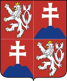 Coats of arms of Czech and Slovak Federal Republic