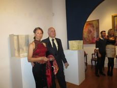 """""""Moulin Rouge-Thanksgiving"""" Gala Champagne Reception for the November 8 - December 3, 2013 Exhibition at Amsterdam Whitney Gallery"""