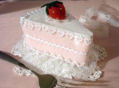 DIY Sweet Lolita Strawberry Cake Hat/Head Piece
