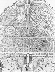 Rural Garden Map 1718