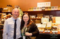 Antonio Autore (founder of Autore Chocolate) with Monica Meschini. If you don't know about her, she is a well known Chocolate/Tea-Taster; Chocolate/Tea Party; Cocoa Expert. What else? You can check out her website: www.monicameschini.com