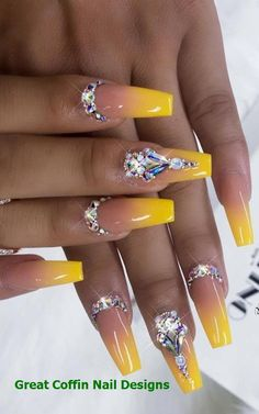 50 Best Ombre Nails ARt Designs ideas and images for 2019 Part ombre nails; ombre nail designs The post 50 Best Ombre Nails ARt Designs ideas and images for 2019 Part ombre nails; o& appeared first on alss wp. Nail Art Designs, Ombre Nail Designs, Acrylic Nail Designs, Nail Designs Bling, Diamond Nail Designs, Trendy Nails, Cute Nails, Nail Art Orange, Nail Ideas