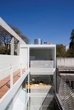 Arquitetura na WEB: Casas Estreitas