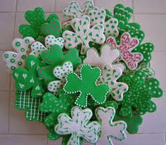 st patrick day cookies - Google Search
