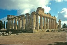 Almost all Greek temples were oriented facing East and, if possible, facing that precise spot in the East where the sun rises on a specific day of the year.
