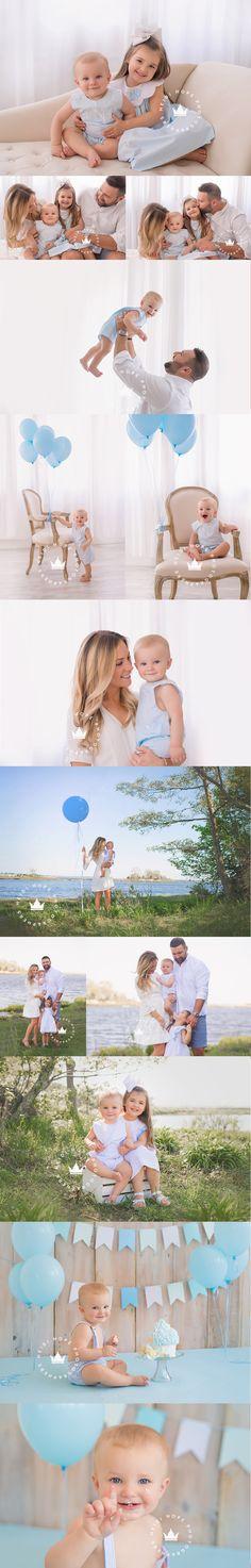 Um-clássico-bebê-menino-azul-primeiro-aniversário-cakesmash-by-boston-baby-fotógrafo