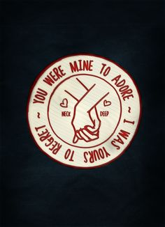 Neck Deep - I want this on a shirt more than anything