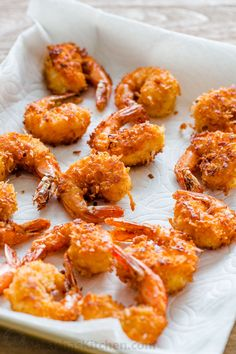 Coconut Shrimp are crisp on the outside with succulent juicy shrimp inside. Do not skip the 2 ingredient coconut shrimp sauce and squeeze of lime juice. Coconut Shrimp Dipping Sauce, Baked Coconut Shrimp, Coconut Shrimp Recipes, Seafood Recipes, Cooking Recipes, Sauce Recipes, Keto Recipes, Chicken Recipes, Oven Recipes