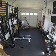 Home Gym Ideas Garage Budget Workout Rooms