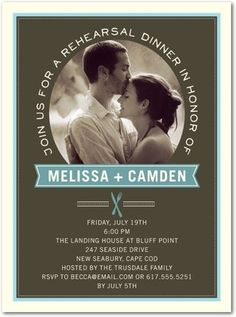 SAVE UP TO off on contemporary rehearsal dinner invitations + wedding dinner invitations to suit any style wedding at Wedding Paper Divas. Wedding Dinner, Wedding Reception, Our Wedding, Wedding Stuff, Rehearsal Dinner Invitations, Rehearsal Dinners, Invites, Wedding Invatations, 2 Year Old Birthday Party