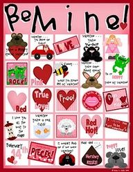 free valentine's day bingo game