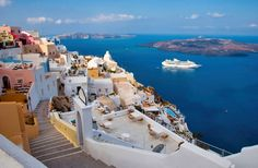Greek IslesMykonos and Santorini with their striking white architecture and blue-domed churches. Then step back in time for a hands-on history lesson on Crete and Rhodes. Enjoy scenic vistas and sun-soaked beaches on Corfu and Kos.