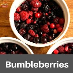 Bumbleberries are not a type of berry; in fact, they don't really ...