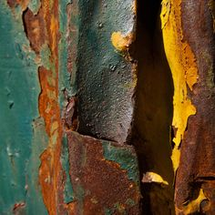 Annie Watson Creates Art Out of Destruction - Design Milk Urban Decay Photography, Abstract Photography, Texture Photography, Decay Art, Growth And Decay, Peeling Paint, A Level Art, Textiles, Abstract Photos