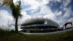 The Arena Pernambuco, is located in Sao Lourenco da Mata in Recife's metropolitan zone, just 19km away from Guararapes International Airport. Overall capacity 42610