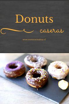 Donas caseras Sweet Cakes, Churros, Desert Recipes, Popsicles, Granola, Doughnut, Fudge, Sweet Treats, Deserts