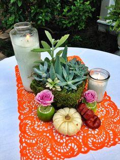 Mexican Fiesta Tablescape