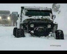 DEEP SNOW JEEP WILL GO