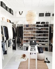 Extra room-turned closet