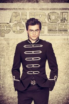 Auror potter.....yo, i want this jacket. like forreal.