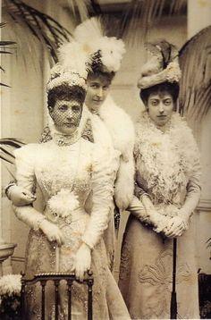 Children of King Edward VII and Alexandra.