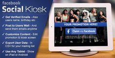 Facebook Social Kiosk