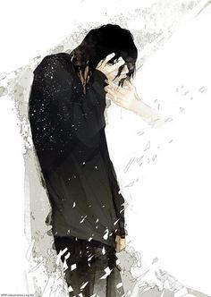 Anime picture original re (artist) single short hair black hair tall image 791x1115 302406 en