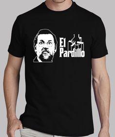 Camisetas El Pardillo (parche blanco)