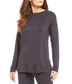 6c98269fc39 N by Natori Nlightened Brushed Jersey Sleep Top