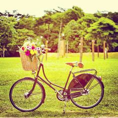 #velorbis #bike #bicycle #garden #flowers #romantic #classic #vintage #picoftheday #photooftheday - @willguima- #webstagram