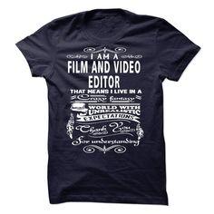 (New Tshirt Produce) I am a Film and Video Editor [TShirt 2016] Hoodies