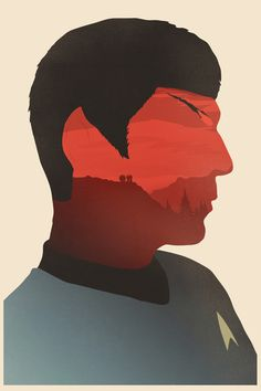 The Search for Spock Art Print by Simon C Page. Star Trek III: The Search for Spock.