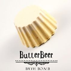 Wizard Collection Bath Bomb -- BUTTER BEER -- This smells so delicious!
