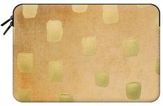 Casetify Macbook Pro 15 MacBook Tasche - Golden Splotch Haze by Lisa Argyropoulos Macbook Pro 15, Tech Accessories, Casetify, Lisa, Sleeves, Cap Sleeves