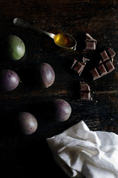 Passion fruit chocolate truffles