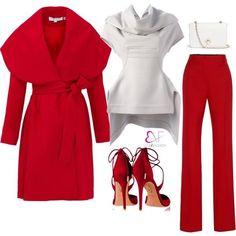 Red & white!