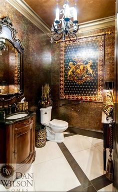 Tuscan bathroom decor (27)