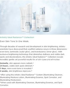 THE NEW SKIN CARE LINE FOR REDUCING DARK SPOTS!