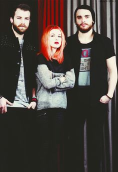 Taylor,Hayley & Jeremy.. I LOVE these three...