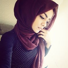 Love this hijab color