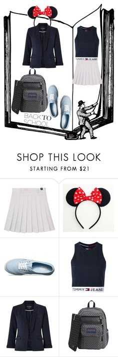 """Untitled #25"" by xppoo ❤ liked on Polyvore featuring Vans, Tommy Hilfiger, Miss Selfridge and JanSport"