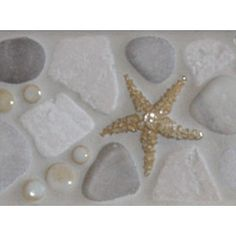 Tile by Wet Dog Tile Co.- border tile that would look nice in the beach house Beach House Bathroom, Mermaid Bathroom, Beach House Decor, Mermaid Tile, Master Bathroom, Coastal Bathrooms, Beach Bathrooms, Border Tiles, Bathroom Plants