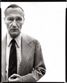 William S. Burroughs by Richard Avedon