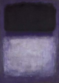 Mark Rothko, abstract expressionisme, colorfield painting. omstreeks 1950