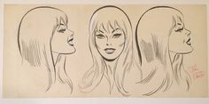 John Romita's Gwen Stacy (of Spiderman) I think John should have drawn Millie the Model instead of giving her that God-Awful Archie-like makeover in 1967. This would have been a great Millie the Model!