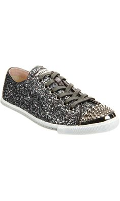 glitter trainers