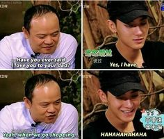 Tao and his dad