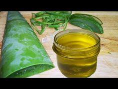 LITTLE DIY - YouTube Fresh Aloe Vera, Aloe Vera For Hair, Hair Growing Tips, Grow Hair, Hair Remedies, Natural Remedies, How To Make Oil, Hair Growth Oil, Hair Oil