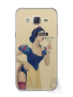 Capa Capinha Samsung J7 Branca de Neve Bitch - SmartCases - Acessórios para celulares e tablets :)